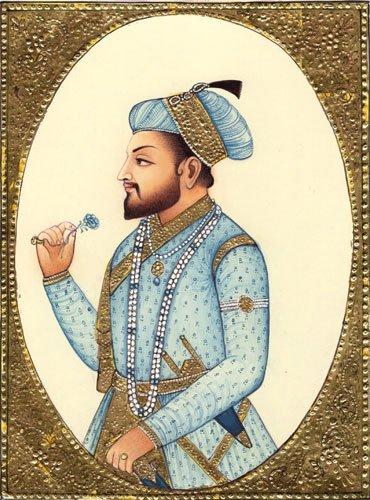El emperador Shah Jahan