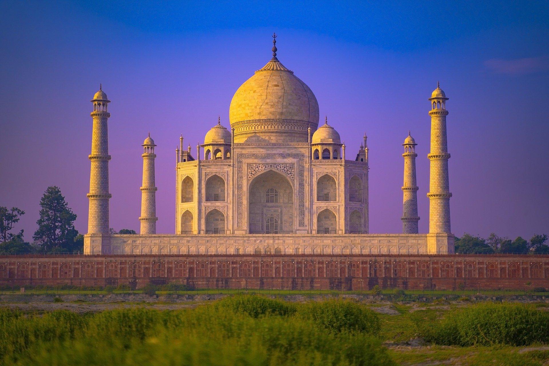 Amanecer en Agra