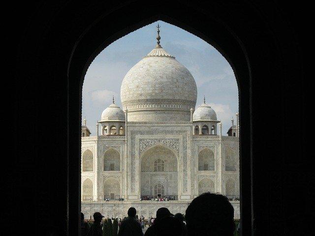 Viaja a la India. Taj Mahal