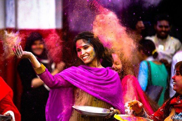 Festival Holi India